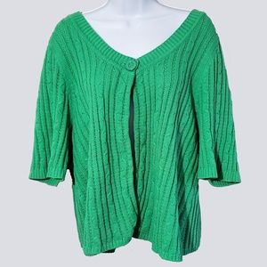 Lane Bryant Open Front Sweater
